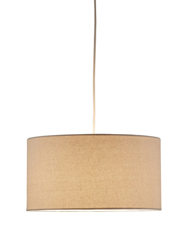 Adesso Inc., - Adesso Harvest One Light Drum Pendant in Natural - 4001-12