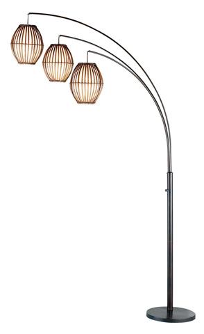 Adesso Inc., - Adesso Maui Three Light Arc Lamp in Antique Bronze - 4026-26