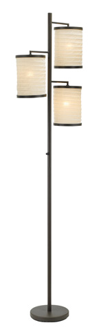 Adesso Inc., - Adesso Bellows Three Light Tree Lamp - 4152-26