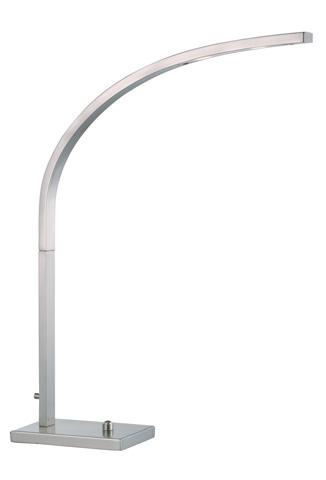 Adesso Inc., - Adesso Sonic LED Desk Lamp in Satin Steel - 4234-22