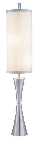Adesso Inc., - Adesso Geneva Three Light Floor Lamp in Steel - 4505-22