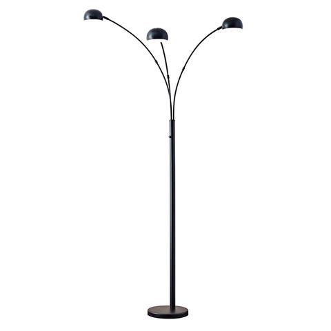 Adesso Inc., - Adesso Domino Three Light Arc Floor Lamp - 5118-01