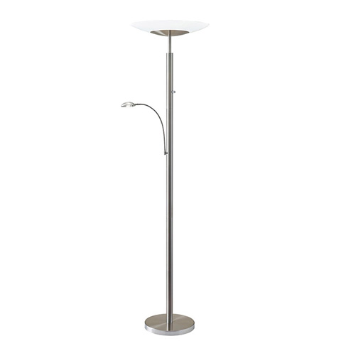 Adesso Inc., - Adesso Stellar Two Light LED Combo Torchiere - 5128-22