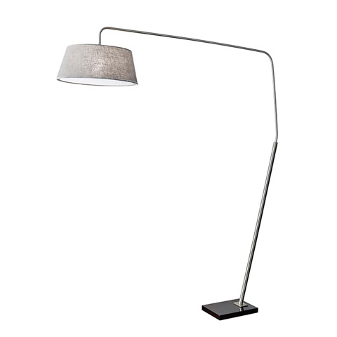 Image of Adesso Ludlow One Light Arc Floor Lamp