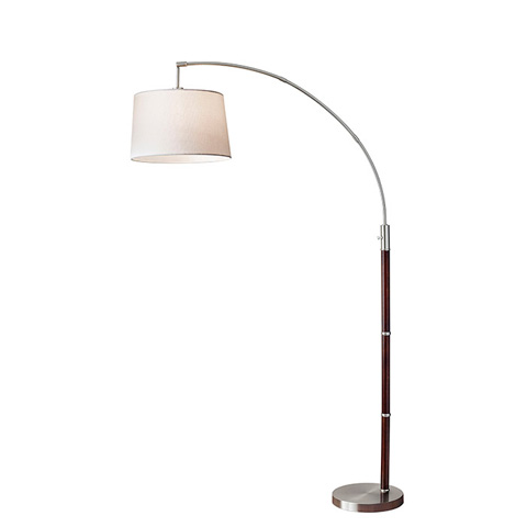 Image of Adesso Alta One Light Arc Floor Lamp