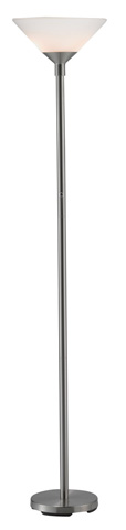 Adesso Inc., - Adesso Aries Two Light Torchiere in Steel - 7500-22