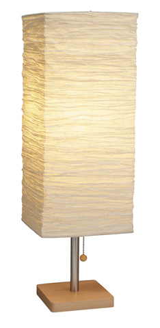 Adesso Inc., - Adesso Dune One Light Tall Table Lamp in Natural - 8021-12