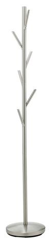 Adesso Inc., - Adesso Evergreen Coat Rack in Satin Steel - WK2036-22
