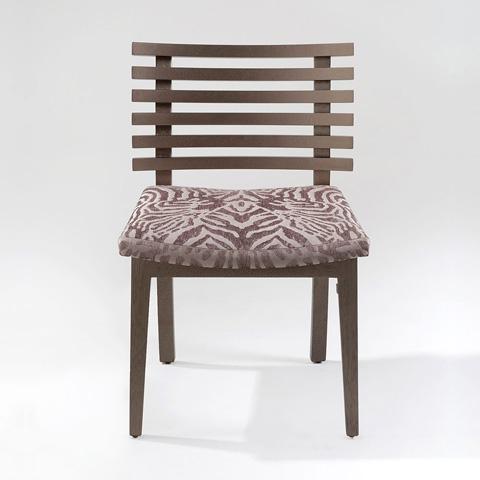 Adriana Hoyos - Chocolate Side Chair - CH01-100