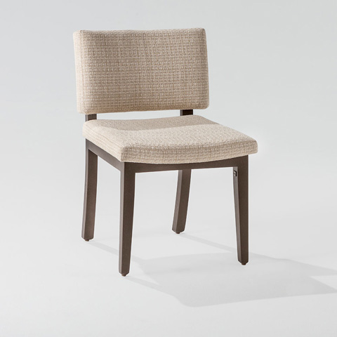 Adriana Hoyos - Chocolate Side Chair - CH01-110