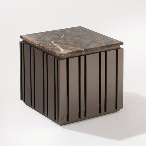 Adriana Hoyos - Grafito End Table - GT20-101R