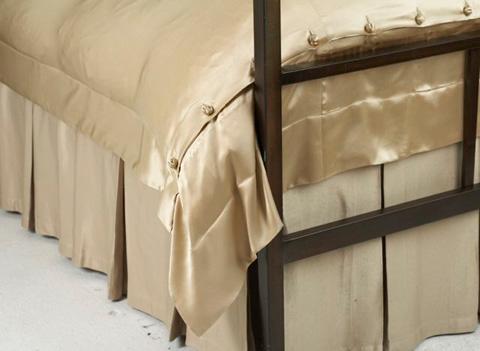 Ann Gish - Silk Texture Box Pleat Skirt - BSSTK