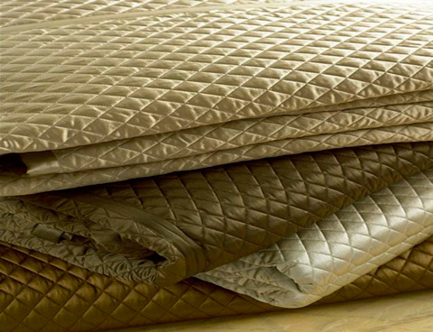 Ann Gish - Charmeuse Quilted Coverlet - COCQK