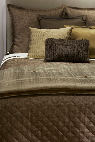 Ann Gish - Quarry Quilted Coverlet - COQQK