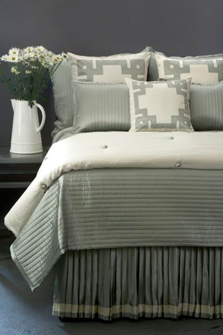 Image of Monaco Knife Pleat Bedskirt