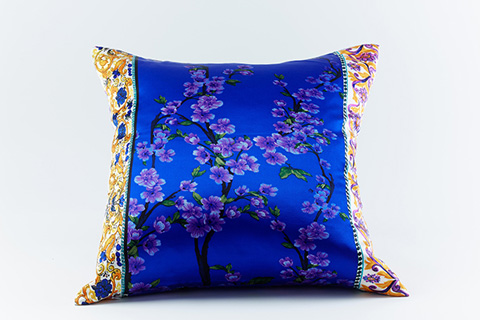 Ann Gish - Cherry Silk Pillow - PWCY2222