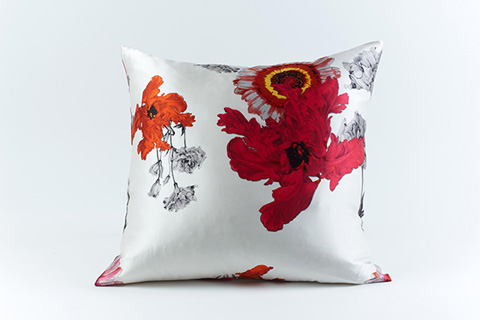 Ann Gish - Daisy Silk Pillow - PWDA2020