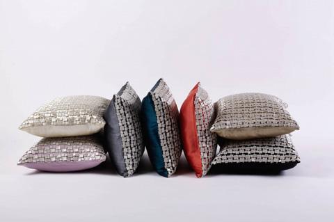Ann Gish - Metallic Mosaic Pillow - PWPR1612