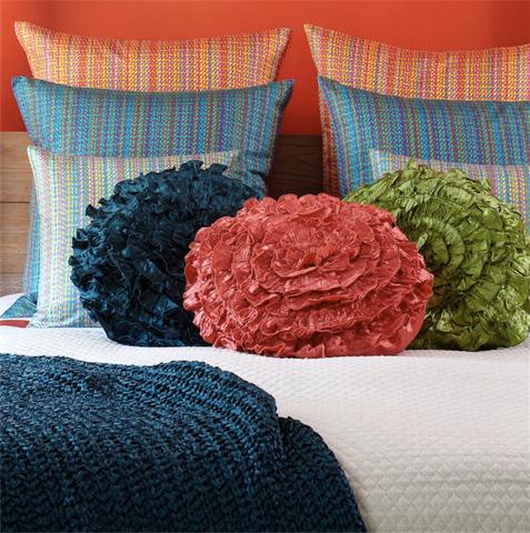 Ann Gish - Charmeuse Seaflower Pillow - SFCH