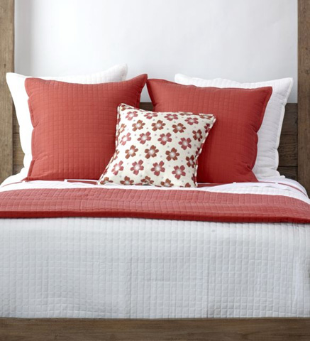 Ann Gish - Silk Ready-To-Bed Quilted Sham - SHQHB