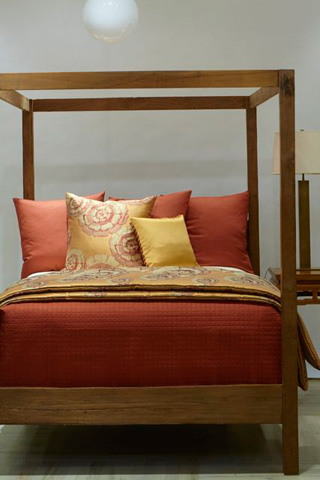 Ann Gish - Linen Cotton Ready-To-Bed Quilted Sham - SHQLE