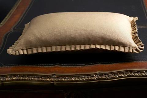 Ann Gish - Silk Texture Sham with Pleats - SHSTE
