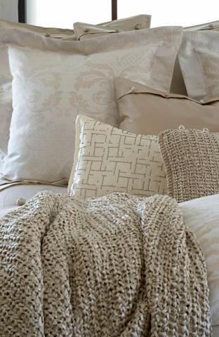 Ann Gish - Knitted Silk Throw - THKS