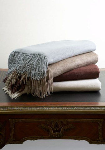 Image of Silk Fleece Throw