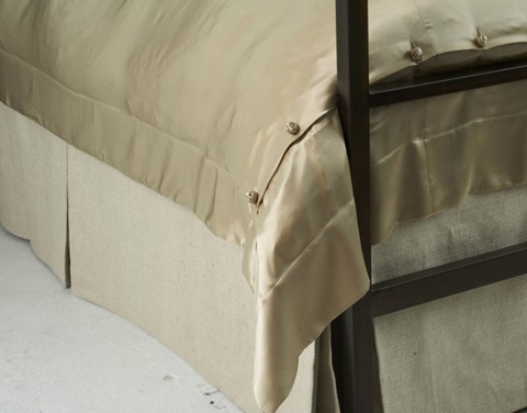 Image of Basketweave Tailored Bed Skirt