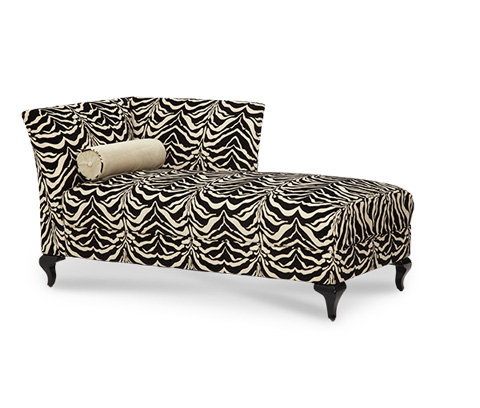 Image of Left Arm Facing Tiger Chaise Lounge