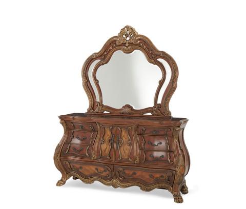 Michael Amini - Dresser and Mirror - 75050-39/75060-39