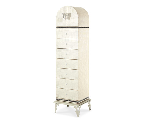 Image of Upholstered Swivel Lingerie Chest
