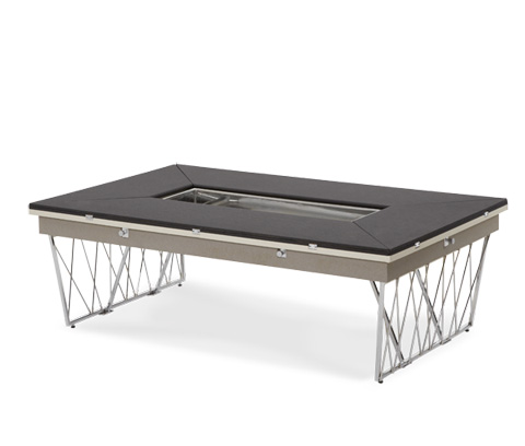Image of Rectangular Folding Cocktail Table