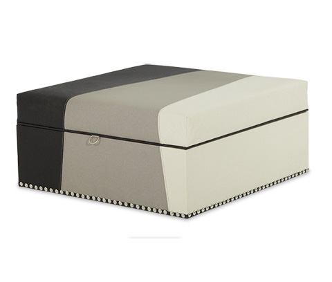 Image of Square Storage Ottoman