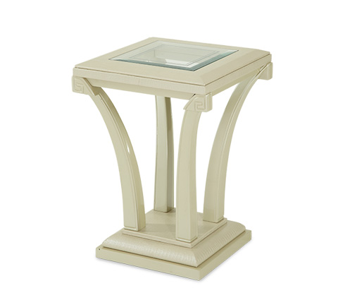 Image of Pearl Croc Chair Side Table