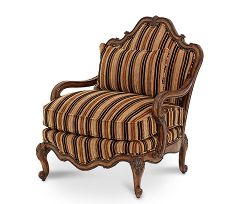 Michael Amini - Bergere Chair - 54835-BRGLD-34