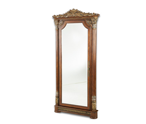 Image of Accent Wall Mirror with Storage