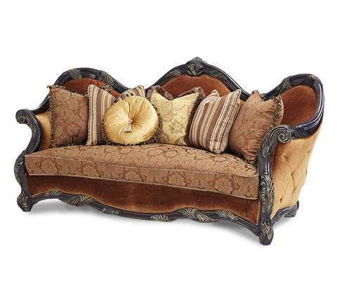 Image of Wood Trim Sofa