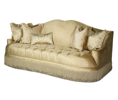 Image of Tufted Seat Sofa