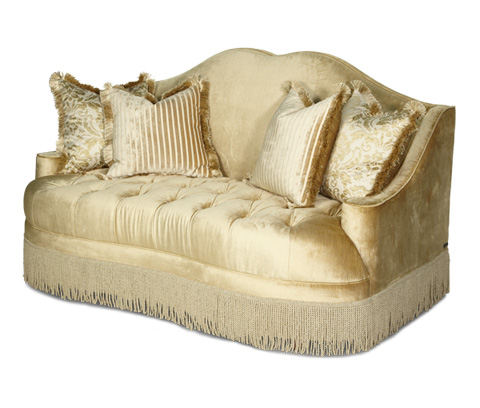 Image of Tufted Loveseat