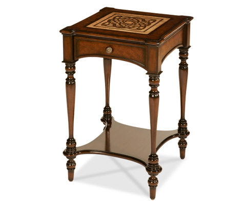 Michael Amini - Accent Table with Drawer - ACF-ACT-CTLN-005