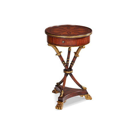 Michael Amini - Round Accent Table - ACF-ACT-RCHM-103
