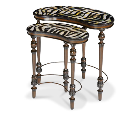Michael Amini - Two Piece Nesting Tables - ACF-NST-KENY-006