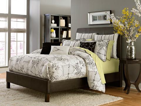 Michael Amini - Madison King Ten Piece Comforter Set - BCS-KS10-MADISN-CLO