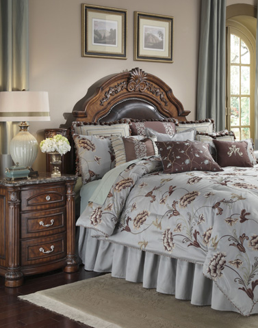 Image of Enchantment Thirteen Piece King Comforter Set