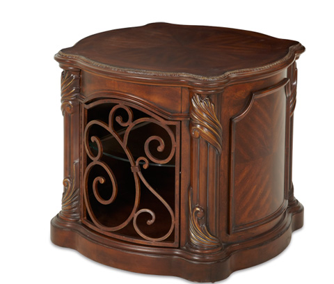 Image of Barrel End Table