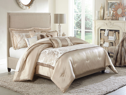 Image of Palermo Ten Piece King Comforter Set
