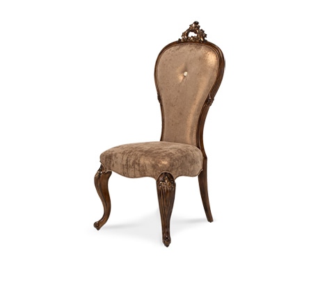 Image of Platine de Royale Side Chair in Light Espresso