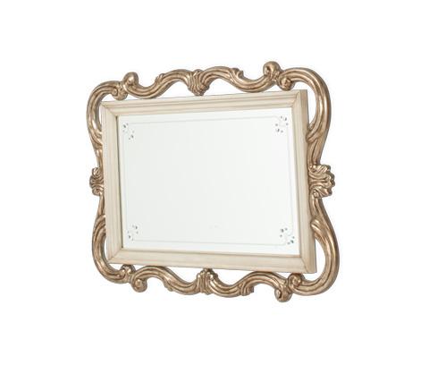 Michael Amini - Platine de Royale Wall Mirror in Champagne - 09260-201