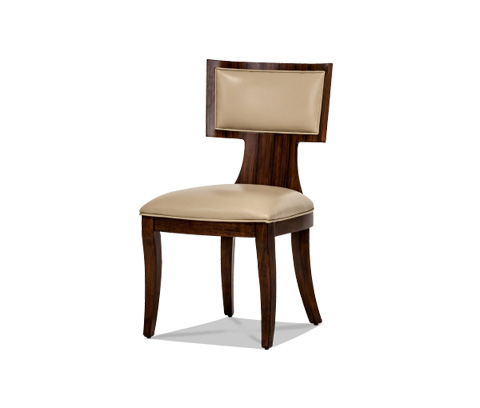 Image of Cloche Side Chair in Bourbon